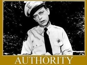 Authority Barney Fife