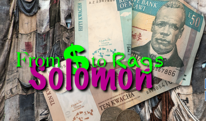 Riches to Rags Solomon