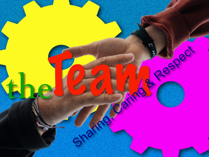Team - Sharing Caring Respect
